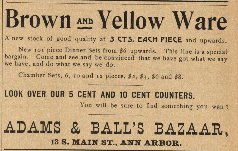 Brown And Yellow Ware image