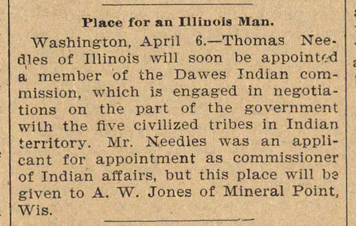 Place For An Illinois Man image