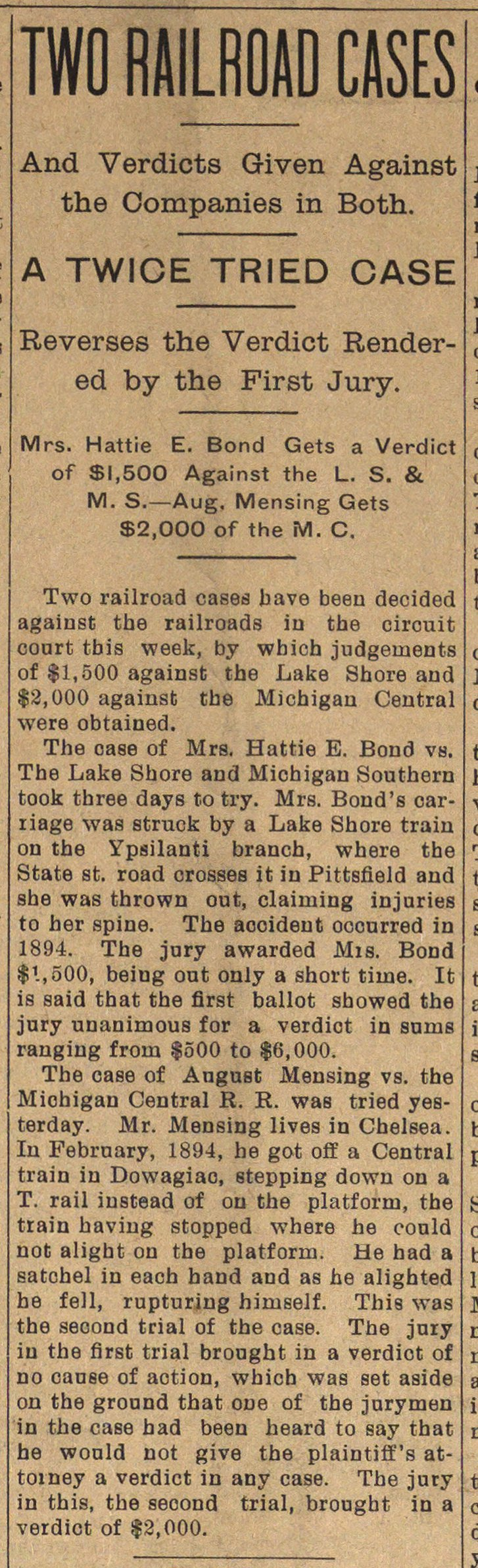 Two Railroad Cases image