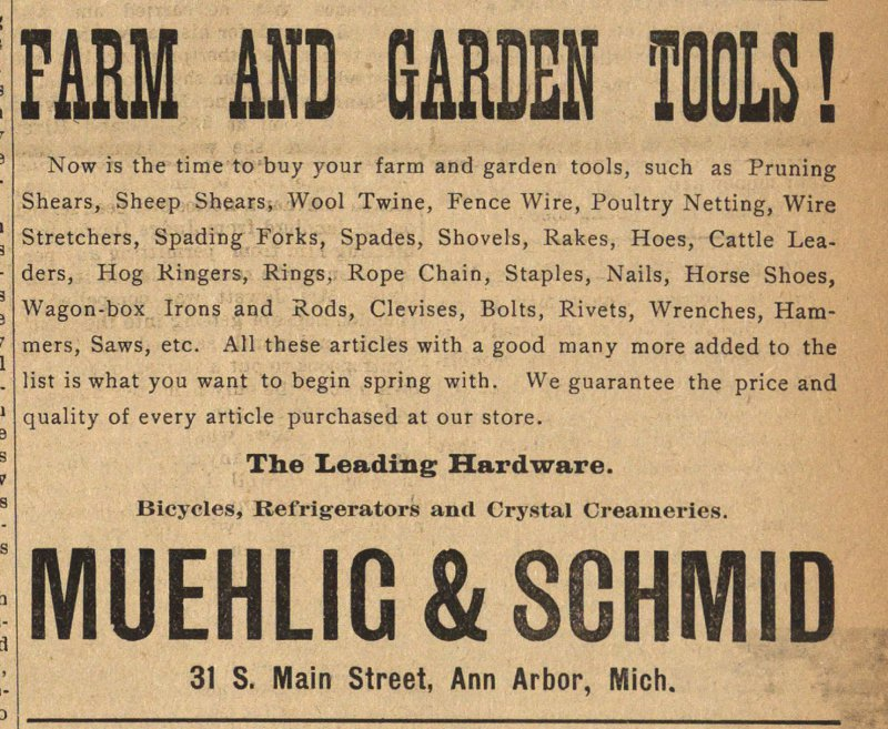 Farm And Garden Tools! image