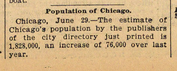 Population Of Chicago image