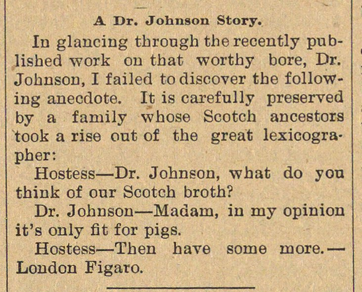 A Dr. Johnson Story image