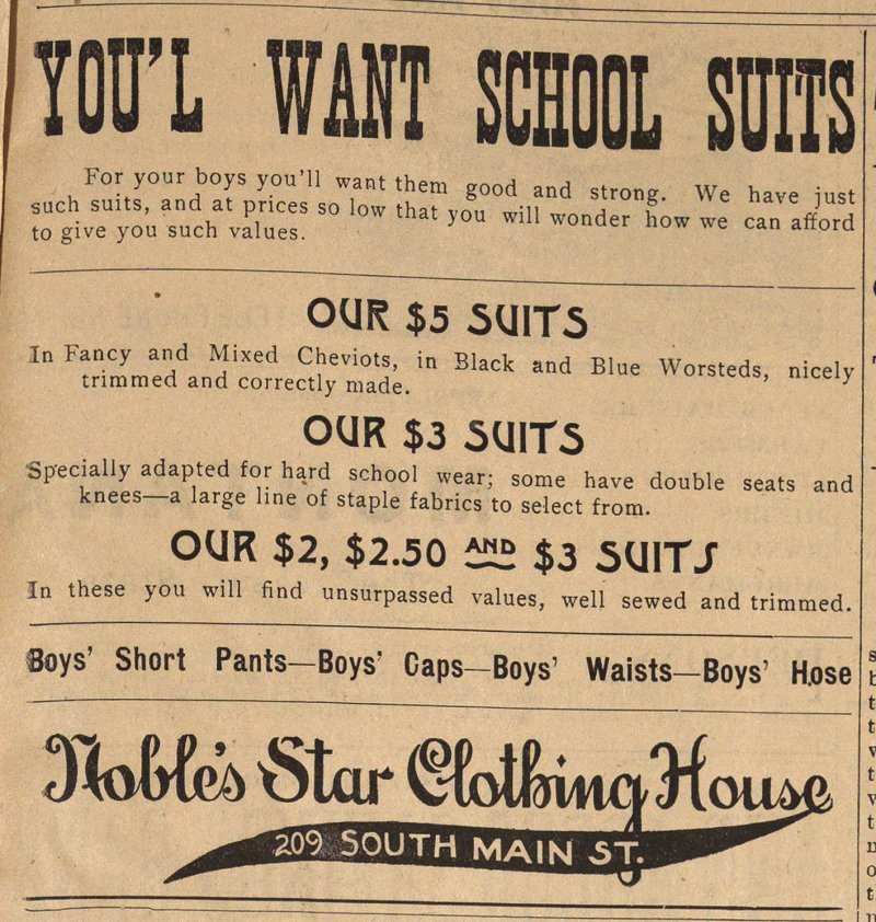 You'l Want School Suits image