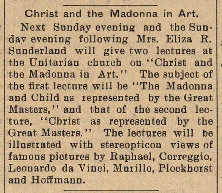 Christ And The Madonna In Art image