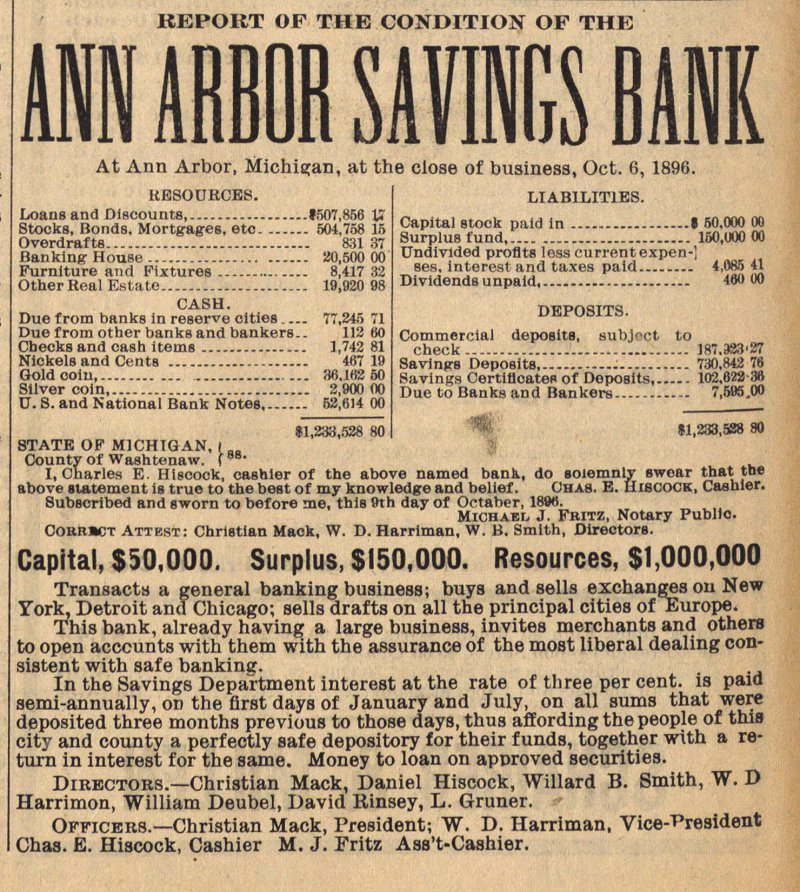 Ann Arbor Savings Bank image