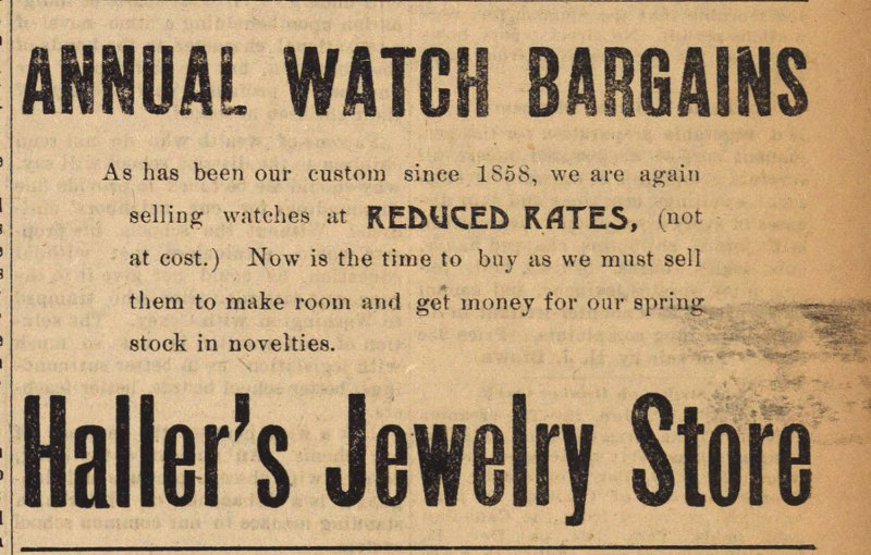Annual Watch Bargains image