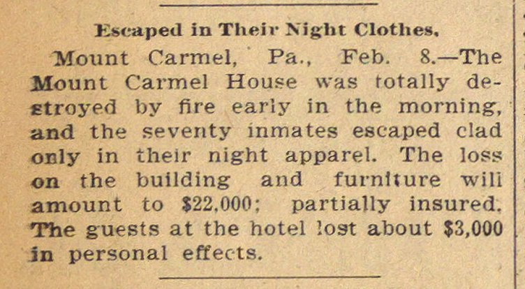 Escaped In Their Night Clothes image