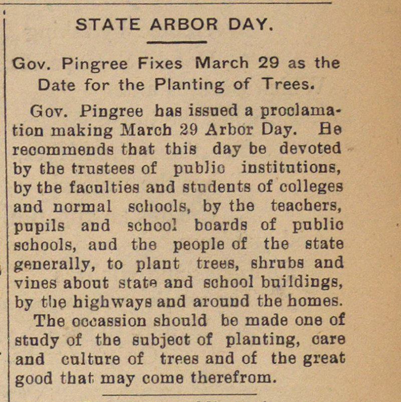 State Arbor Day image
