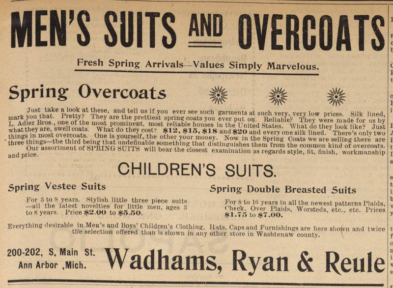 Men's Suits And Overcoats image