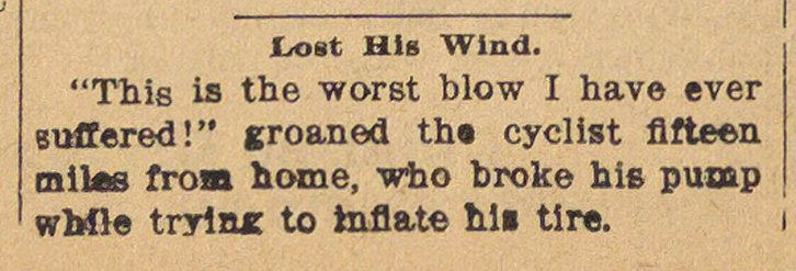 Lost His Wind image