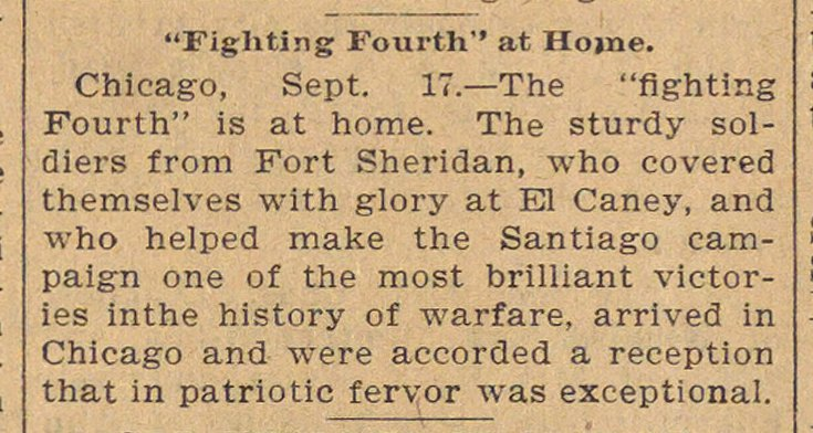 """fighting Fourth"" At Home image"