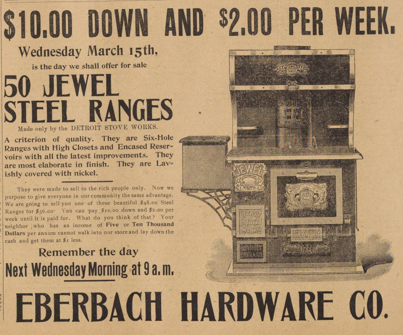 Eberbach Hardware Co. image