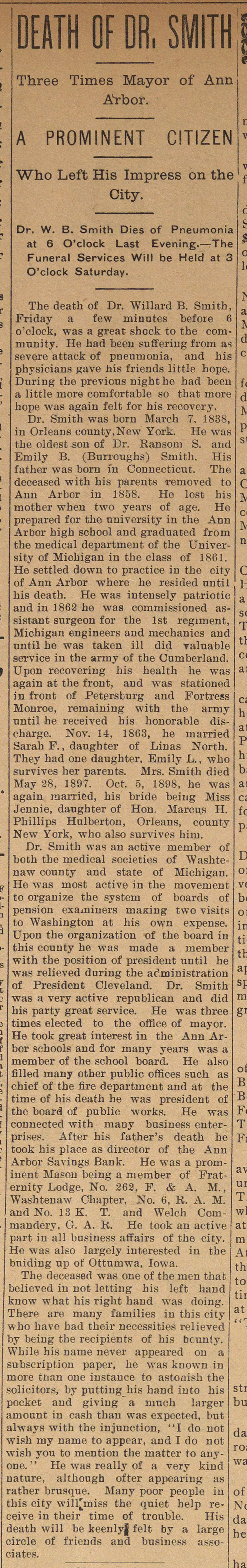 Death Of Dr. Smith image
