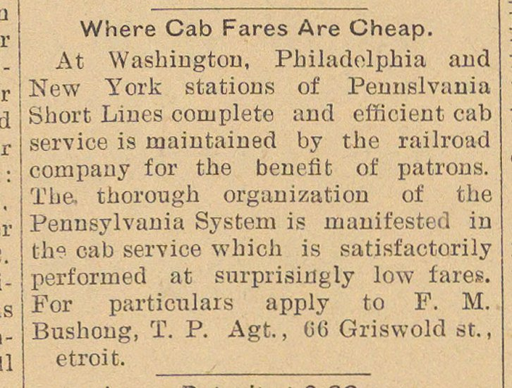 Where Cab Fares Are Cheap image