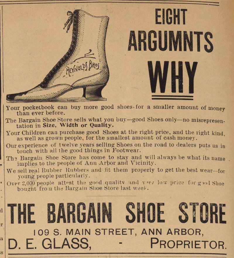 The Bargain Shoe Store image