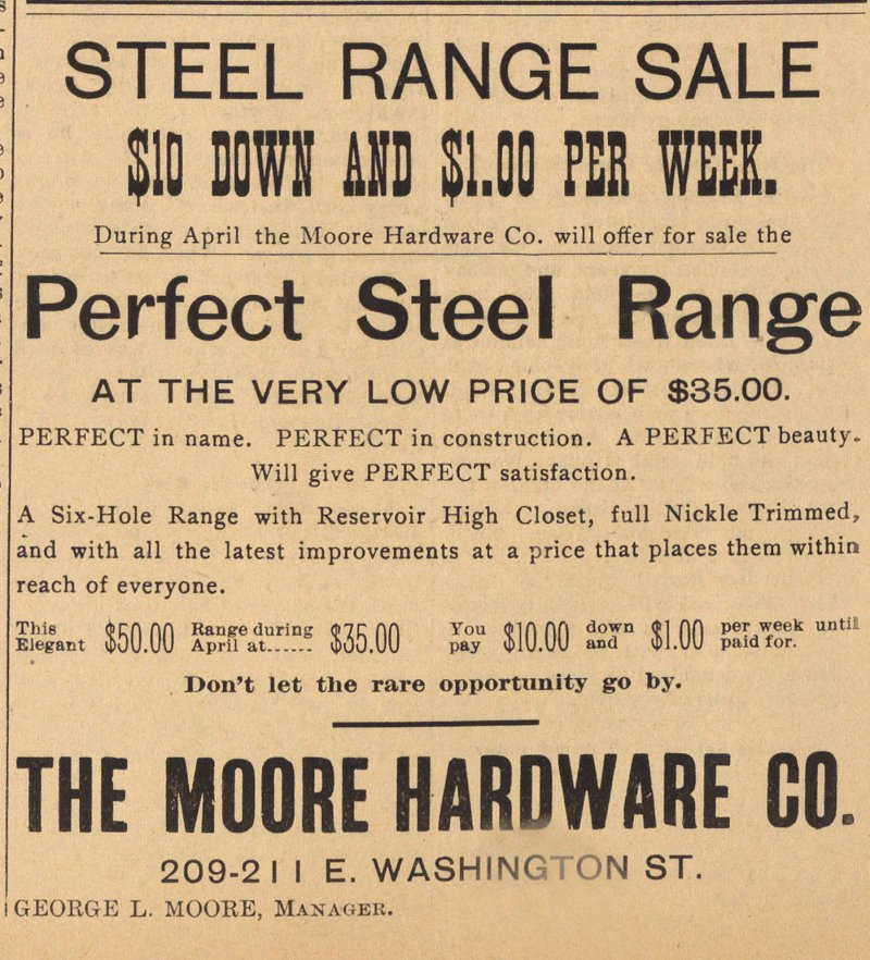 The Moore Hardware Co. image