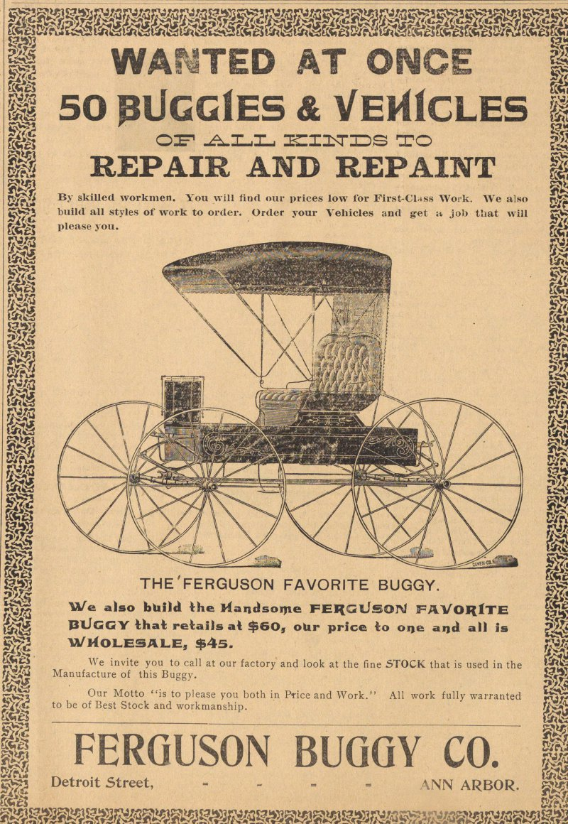 Ferguson Buggy Co. image