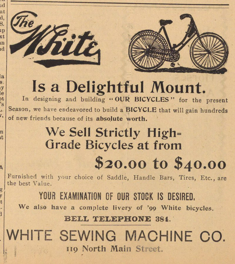 White Sewing Machine Co. image