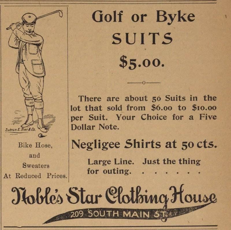 Golf Or Byke Suits image