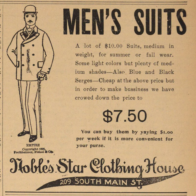 Men's Suits image