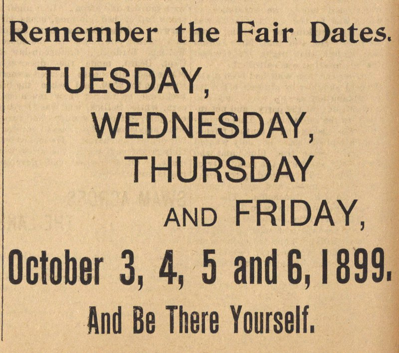 Remember The Fair Dates image