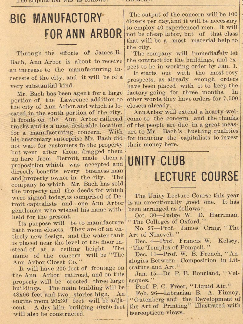 Big Manufactory For Ann Arbor image