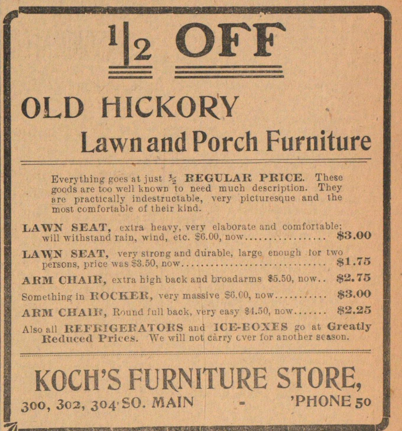 Koch's Furniture Store image