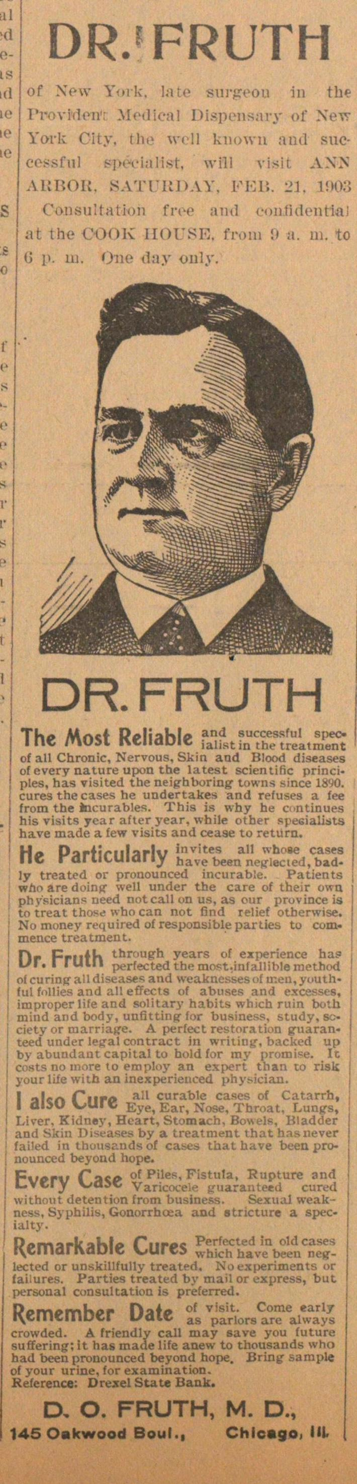 Dr. Fruth image