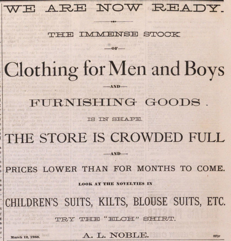 Clothing For Men And Boys image
