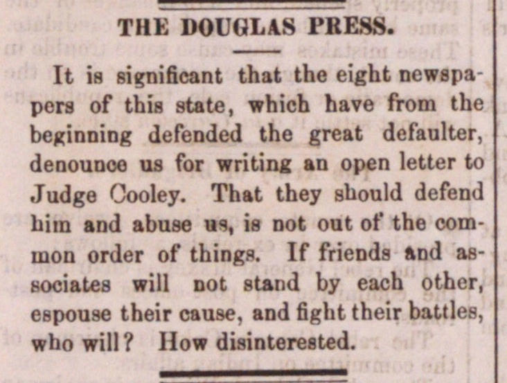 The Douglas Press image