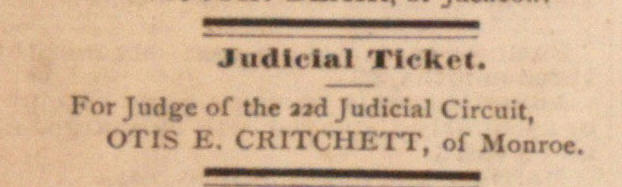 Judicial Ticket image