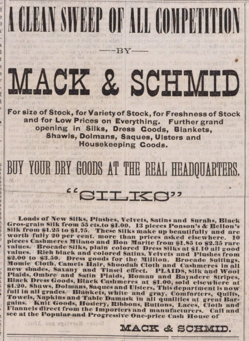 A Clean Sweep Of All Competition image