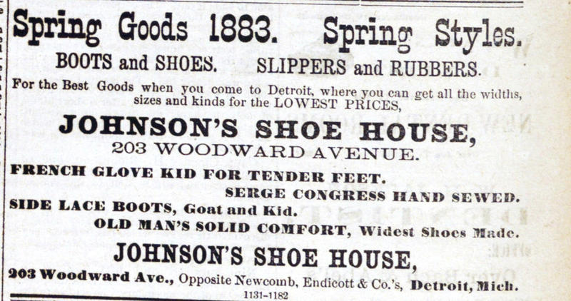Spring Goods 1883. Sprint Styles image