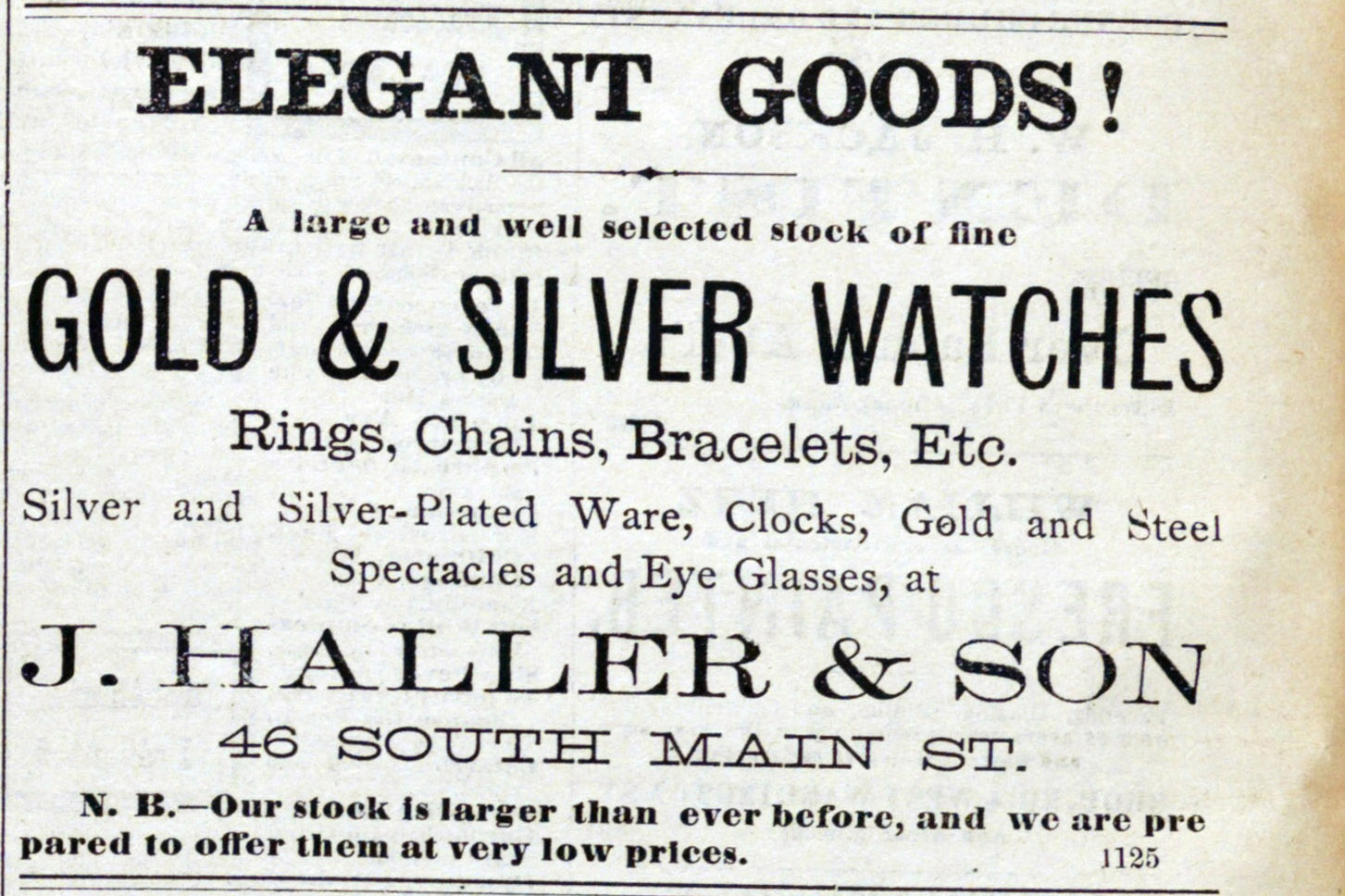 Classified_ad: Elegant Goods! image