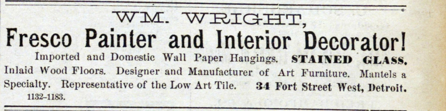 Classified_ad: Wm. Wright image