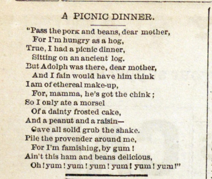 A Picnic Dinner image