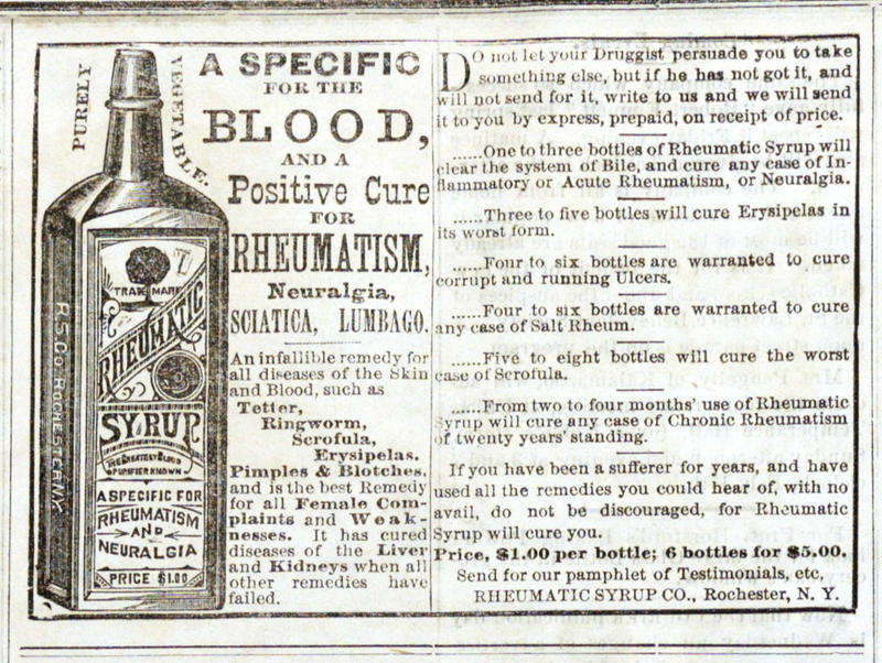 Rheumatic Syrup Co  | Ann Arbor District Library