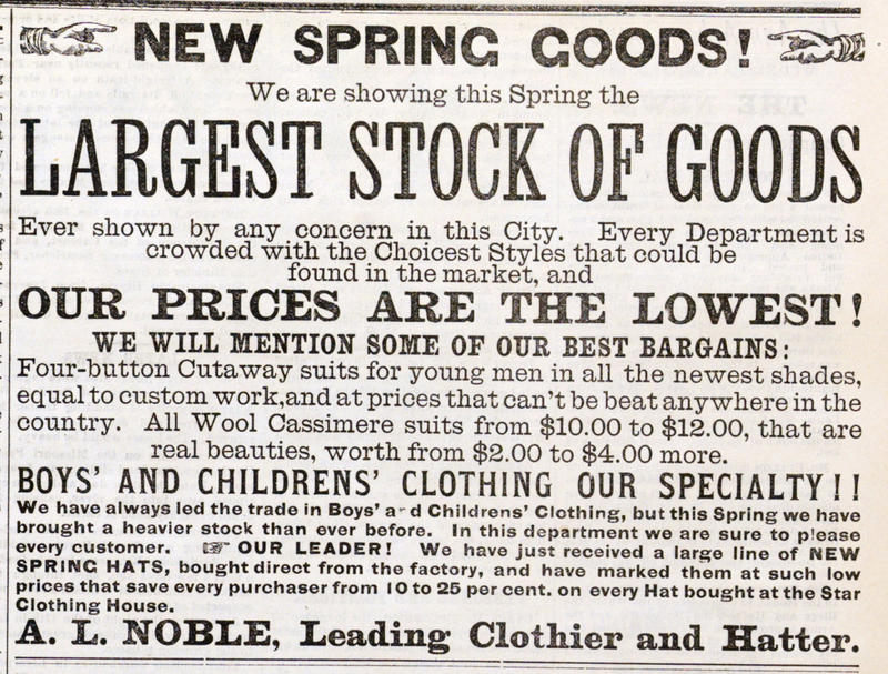 Largest Stock Of Goods image