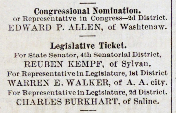 Congressional Nomination image
