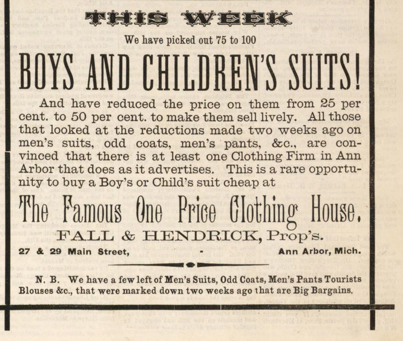 Boys And Children's Suits! image