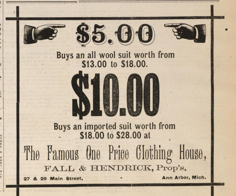 The Famous One Price Clothing House image