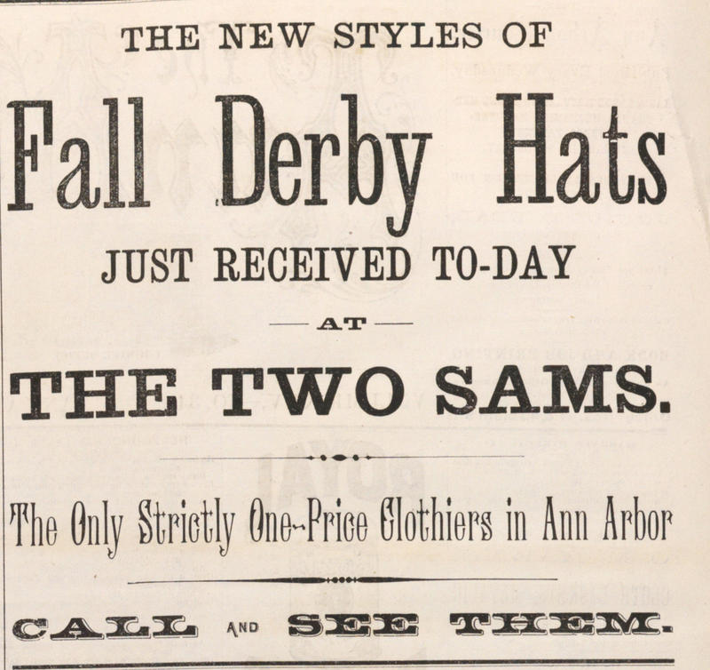 Fall Derby Hats image