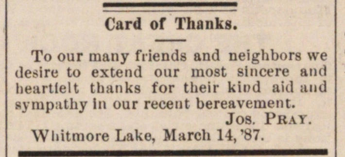 Card Of Thanks image