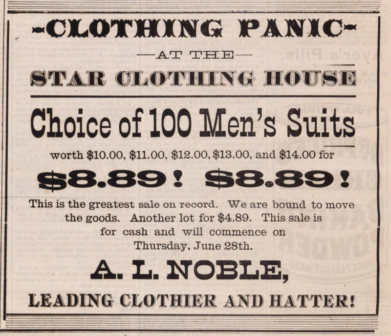 Clothing Panic image