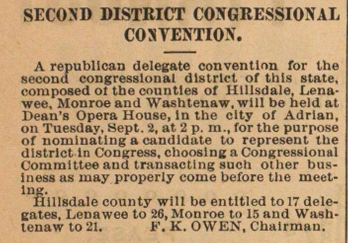 Second District Congressional Contention image