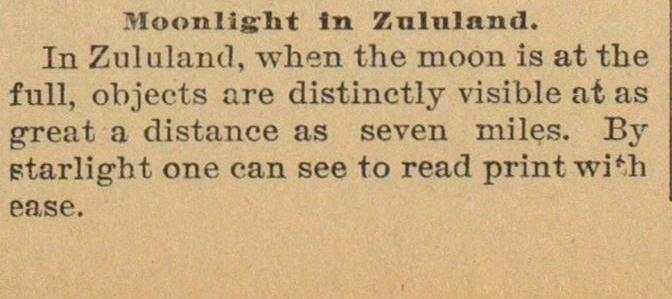 Moonlight In Zululand image
