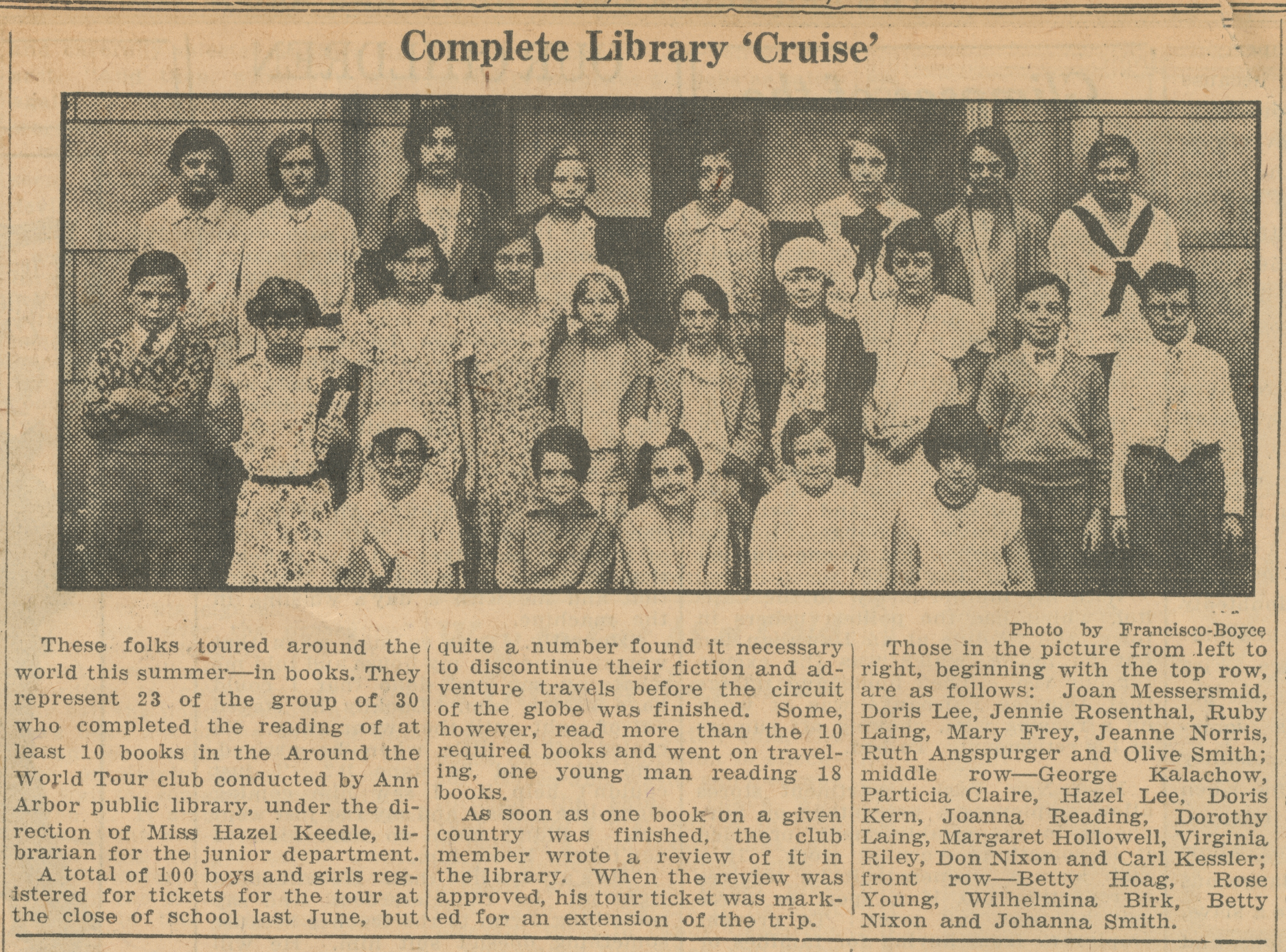 Complete Library 'Cruise' image