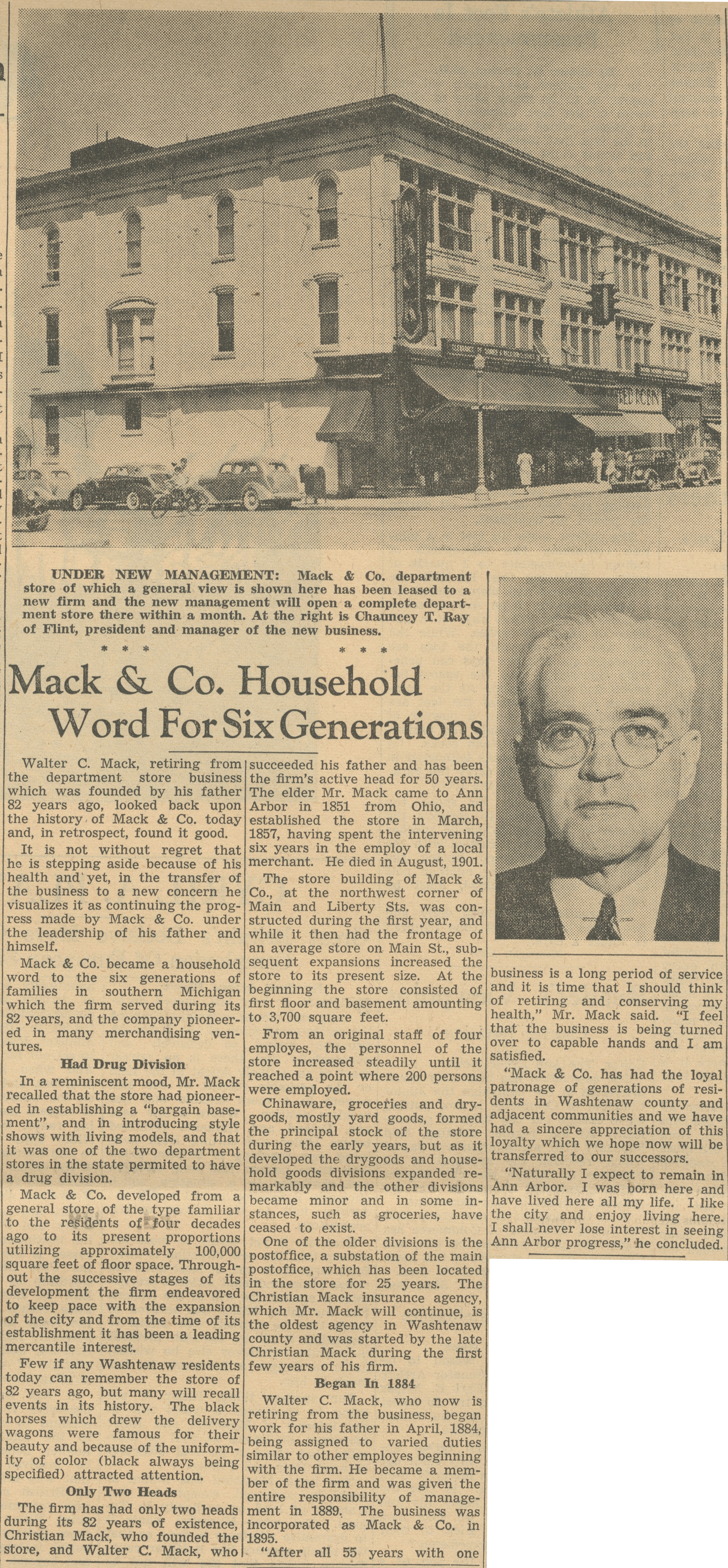 Mack & Co. Household Word For Six Generations image