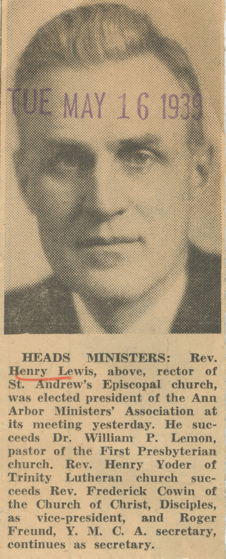 Heads Ministers image