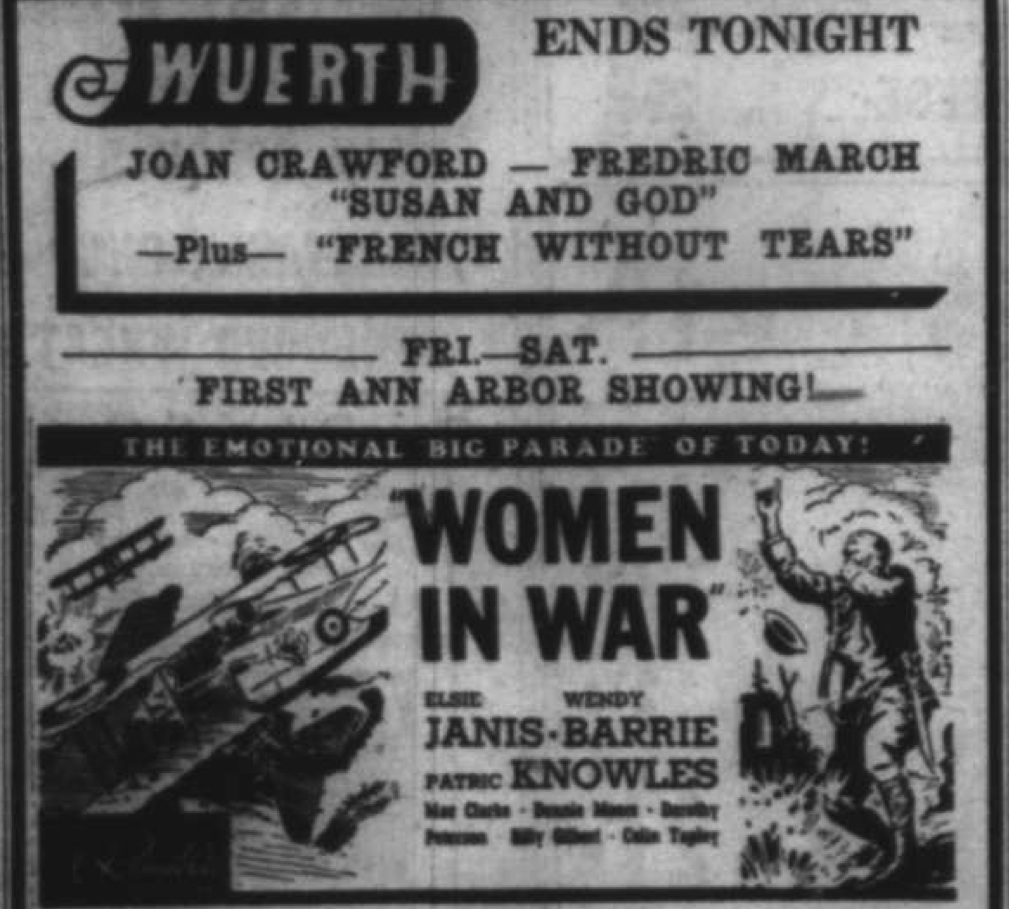 Wuerth Theater - The Emotional Big Parade of Today: Women In War image
